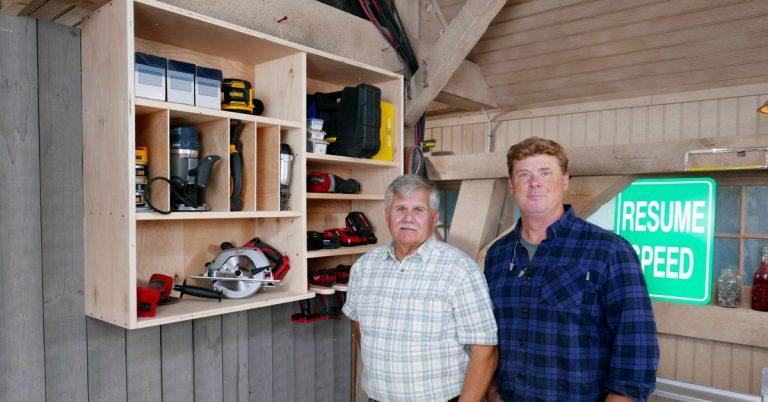 Build It   Tool Storage Shelf