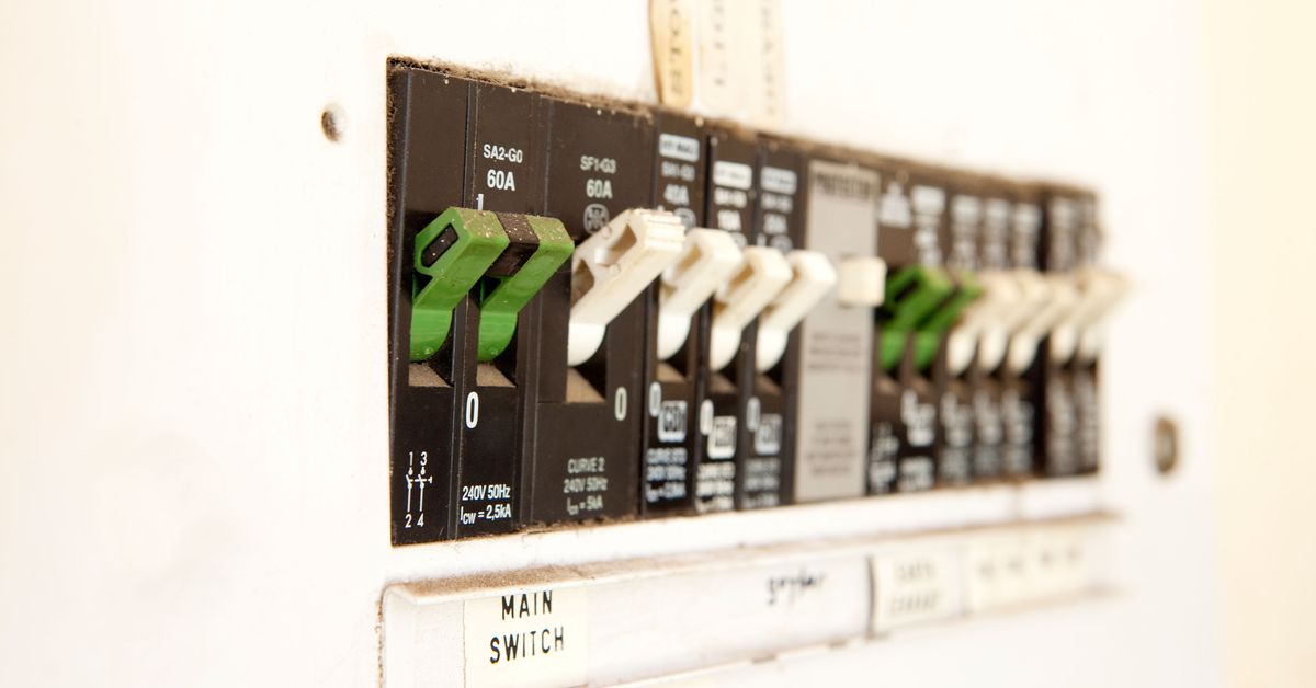 Inside Your Home's Electrical Service Panel