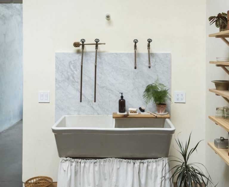 Luxe on a Dime: 15 High/Low Hacks for Using Marble Scraps, from the Remodelista Archives