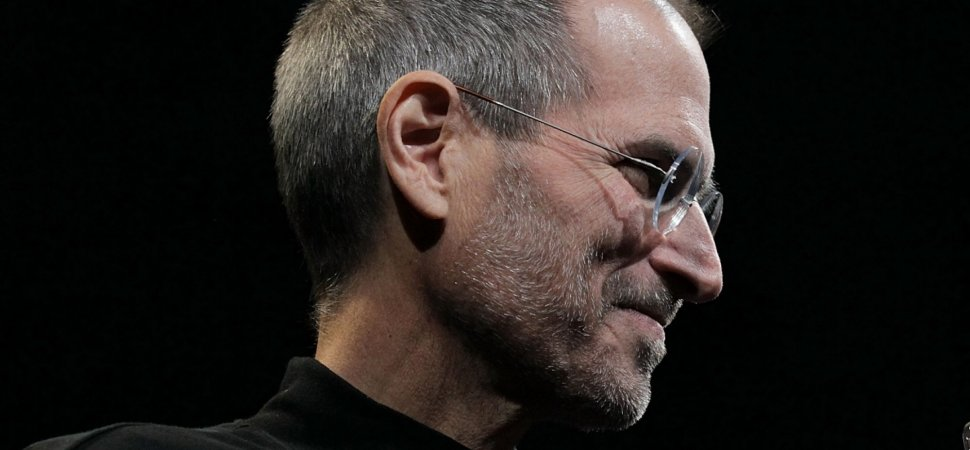 When Steve Jobs Died At 56, His Brain Was Only 27