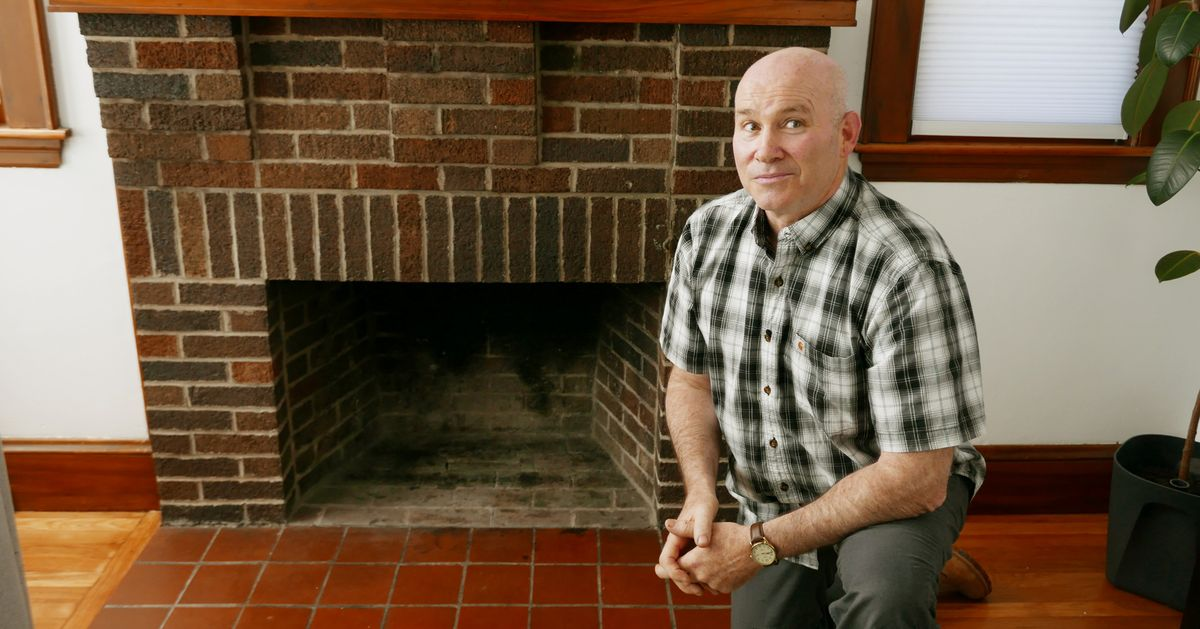 How to Replace a Hearth with Slate Tile
