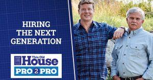 Hiring the Next Generation | Pro2Pro Live