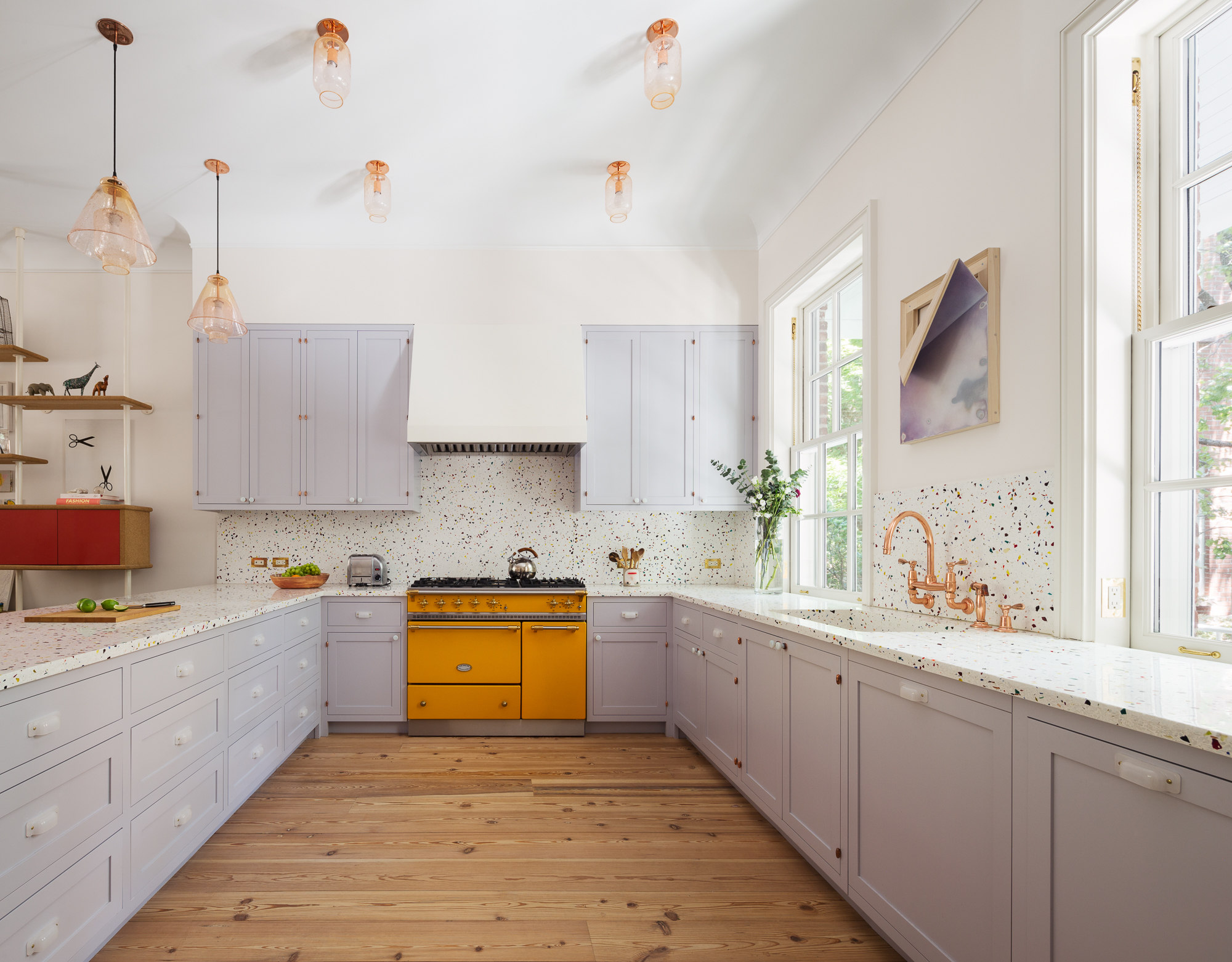 Steal This Look: A Courageously Colorful Kitchen for a New York Artist