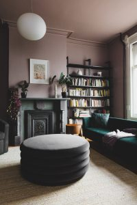 A Shapeless Studio Brooklyn Townhouse Remodel in Pinks, Greens, and Grays