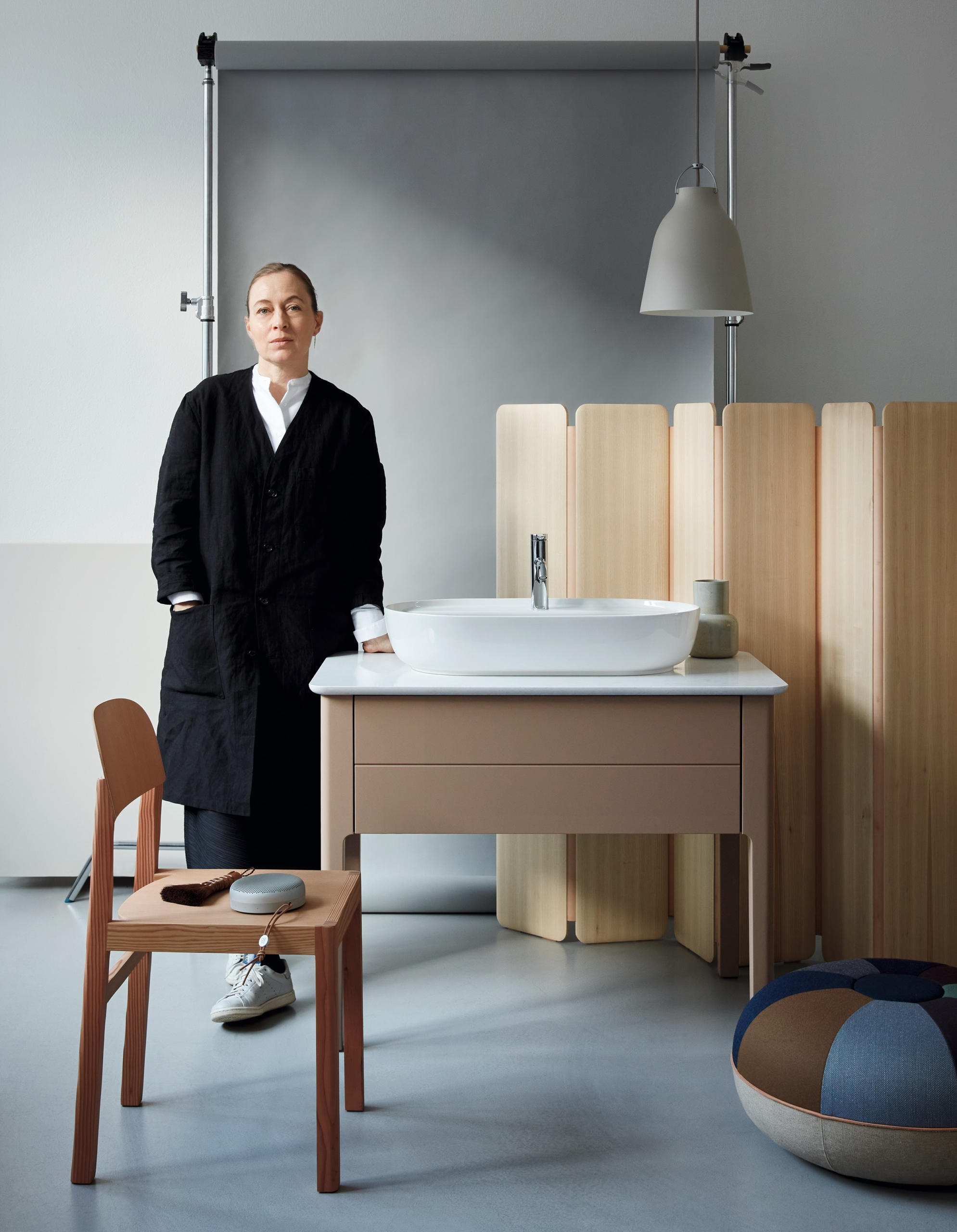 Duravit's Luv Washbasins and Bathtubs Designed by Cecilie Manz