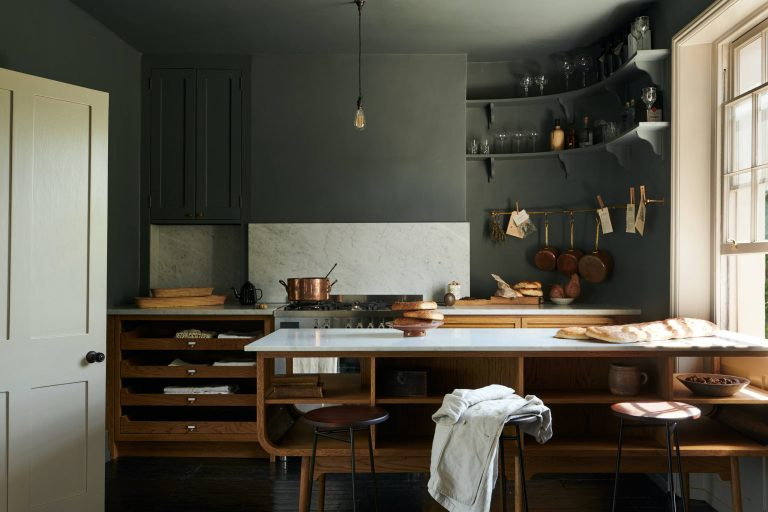 Kitchen of the Week: A London Kitchen Inspired by Traditional Haberdashery Stores