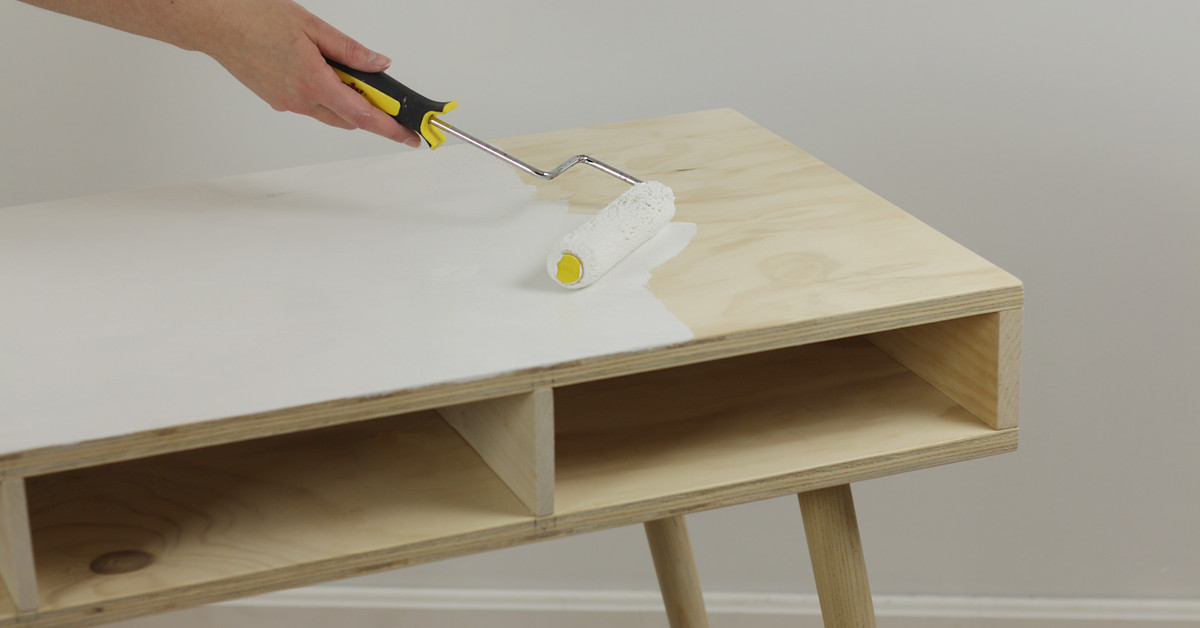How to Paint Bare Wood