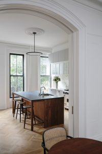 Kitchen of the Week: A Parlor-Level Fort Greene Townhouse Remodel for a Creative Family (Luxe Marble Included)