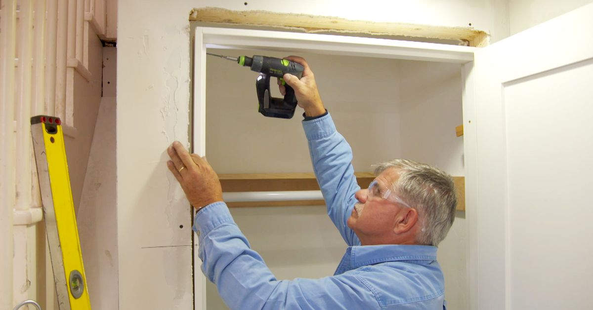 How to Install an Interior Door (with Video)