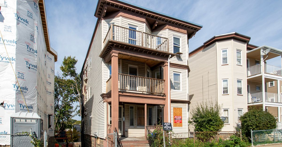 Before Photos of This Old House's Dorchester Triple Decker Project