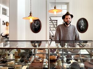 Poetic Old Things at Pidgin, a new antiques shop in upstate NY