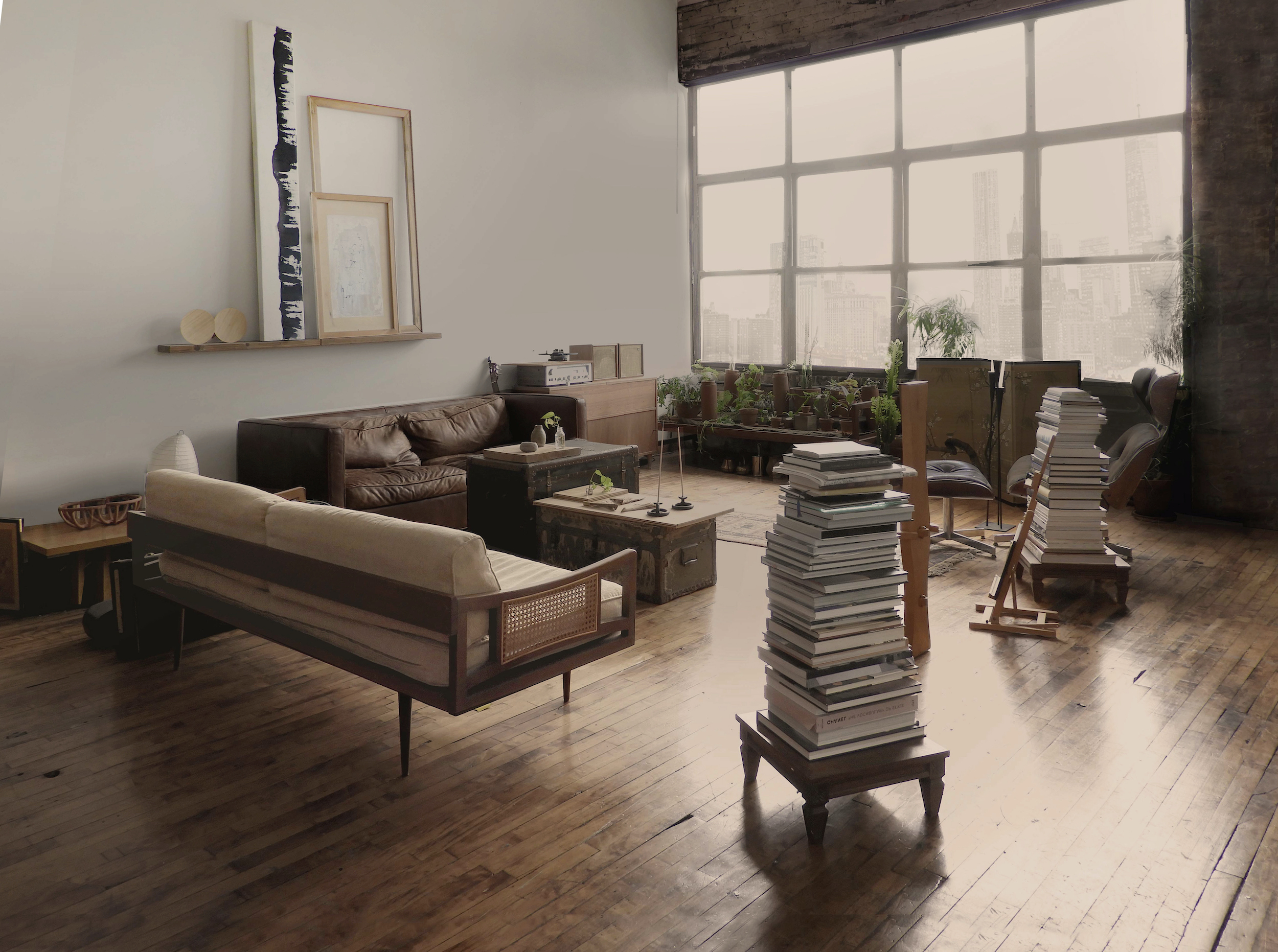 Scene Stealers: Moody Vignettes in the Brooklyn Loft of the Founders of Ridge House