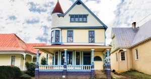 Save This Old House: A Colorful Queen Anne in Virginia