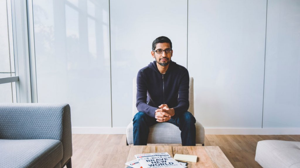 The Emotional Intelligence of Google CEO Sundar Pichai Exclusive Interview