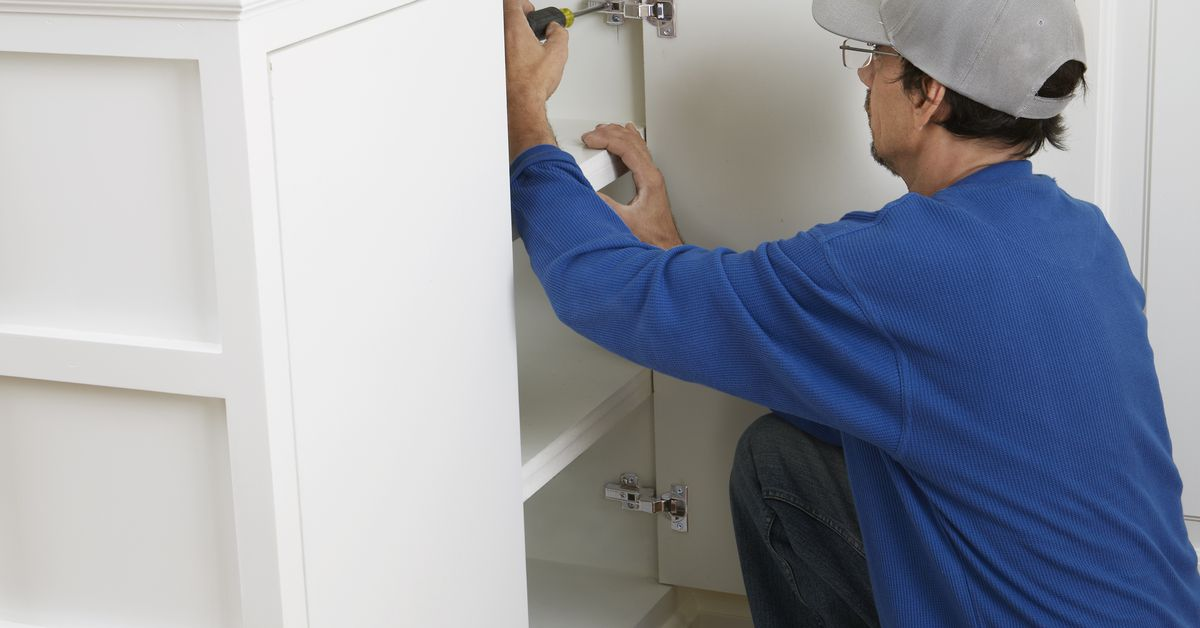 How to Adjust Loose Cabinet Hinges