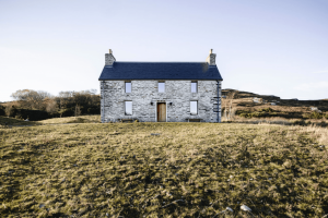 A Scottish Stone House with a Minimalist Soul (Available for Let)