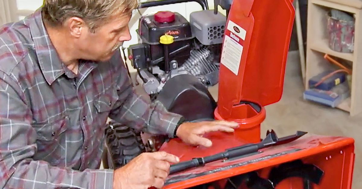 How to Prep Your Snow Blower for Next Winter