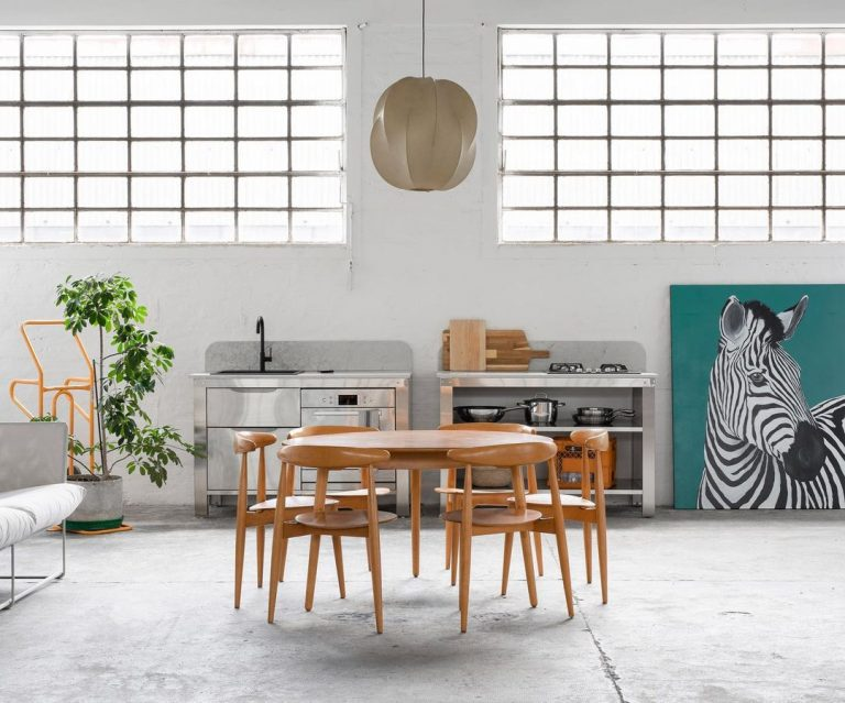 Kitchen of the Week: Modular Culinary Workspaces from Very Simple Kitchen in Bologna, Italy