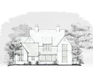 See the Plans for the Modern Tudor Idea House