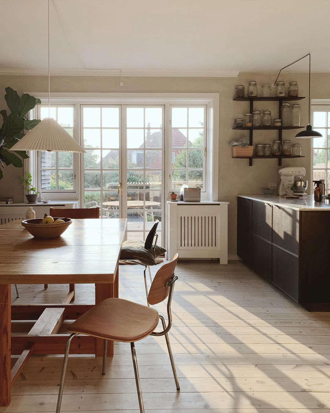 Steal This Look: A Danish Kitchen/Dining Room with Vintage Charm