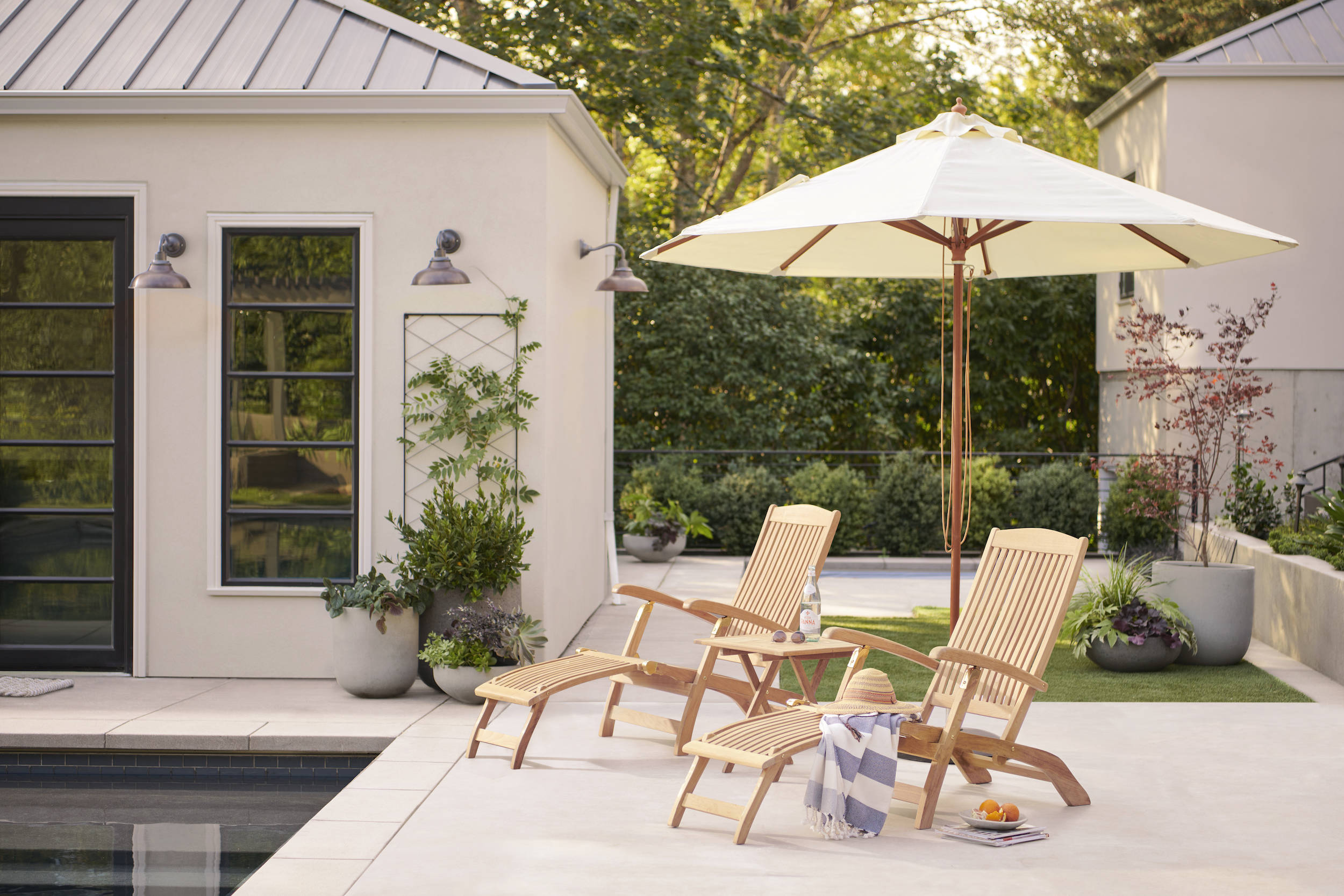 Outdoor Project: Five Tips for Creating an Ideal At-Home Retreat, from Rejuvenation