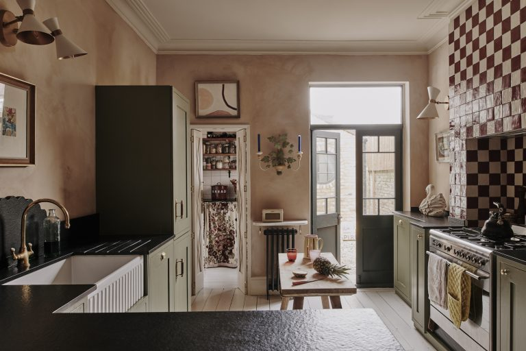Pantry of the Week: Elevated Kitsch in Matilda Goad's Granny-Chic Larder